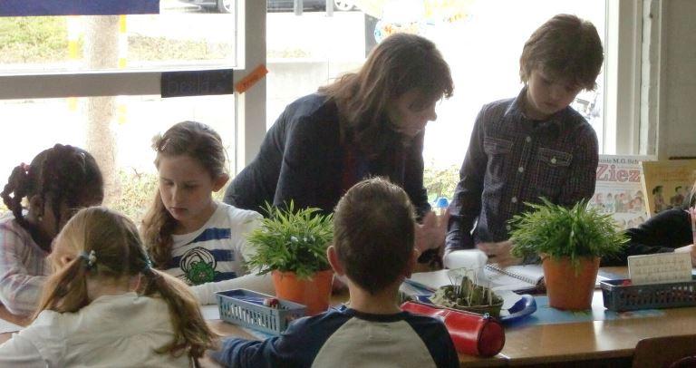 オランダの教室の風景