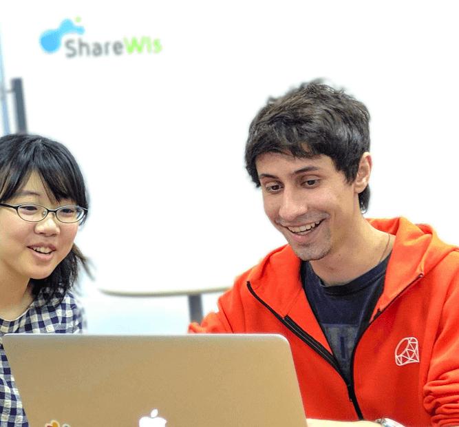 Lucas-san at ShareWis