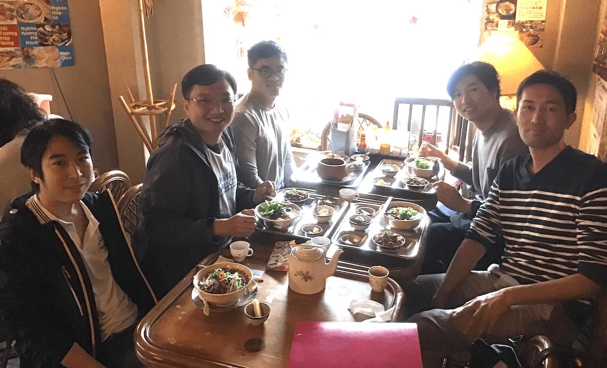 本町のシェアウィズオフィス周辺にあるベトナム料理店の写真