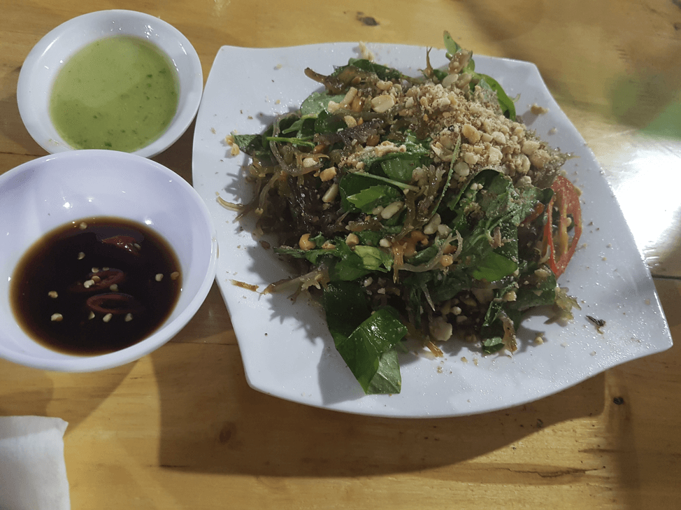 海藻炒めノンロンビエン