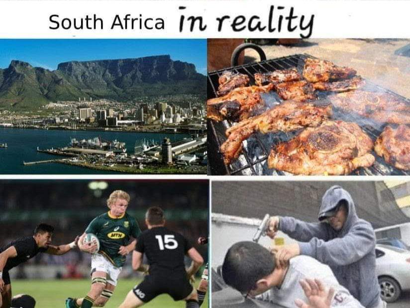 南アフリカの reality